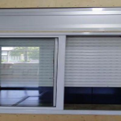 PVC塑钢卷帘窗