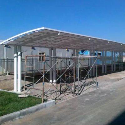 昆明自行车棚停车棚设计制作公司