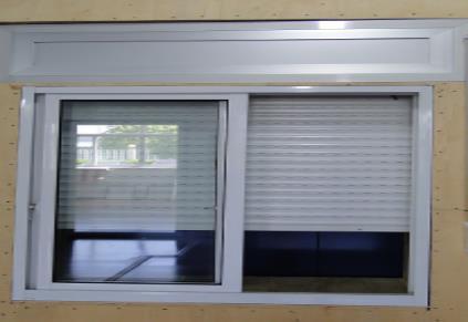 PVC塑钢卷帘窗 卷帘窗